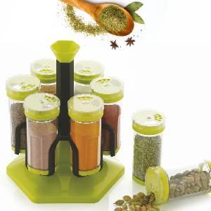 Spice Rack 6 Jar