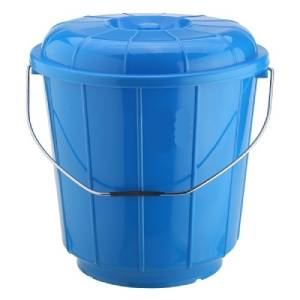 Bucket With Lid And Steel Handle