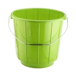 Bucket With Steel Handle