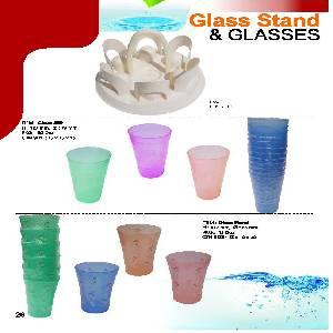 Flora Glass & Glass Stand [VERRE]